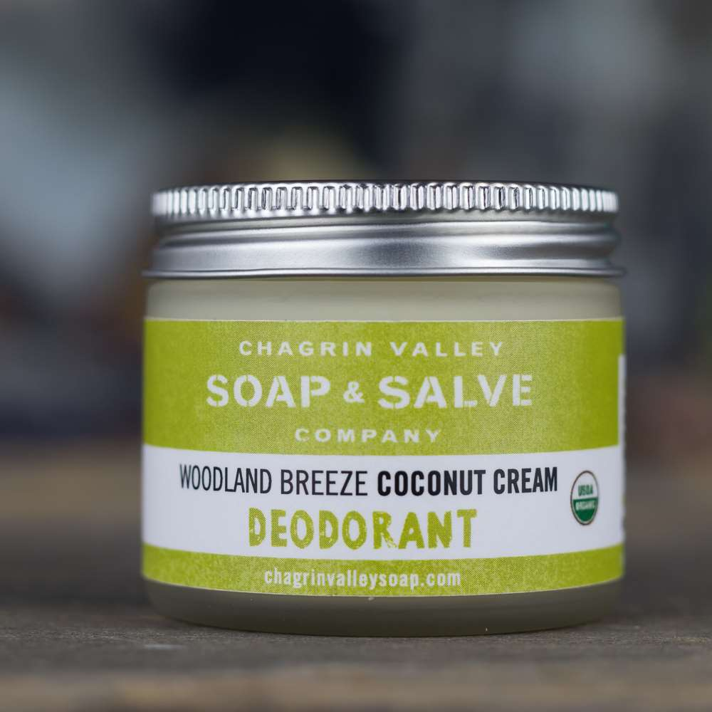 Natural Organic Coconut Cream Deodorant Woodland