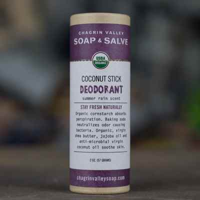 Deodorant: Coconut Stick Summer Rain