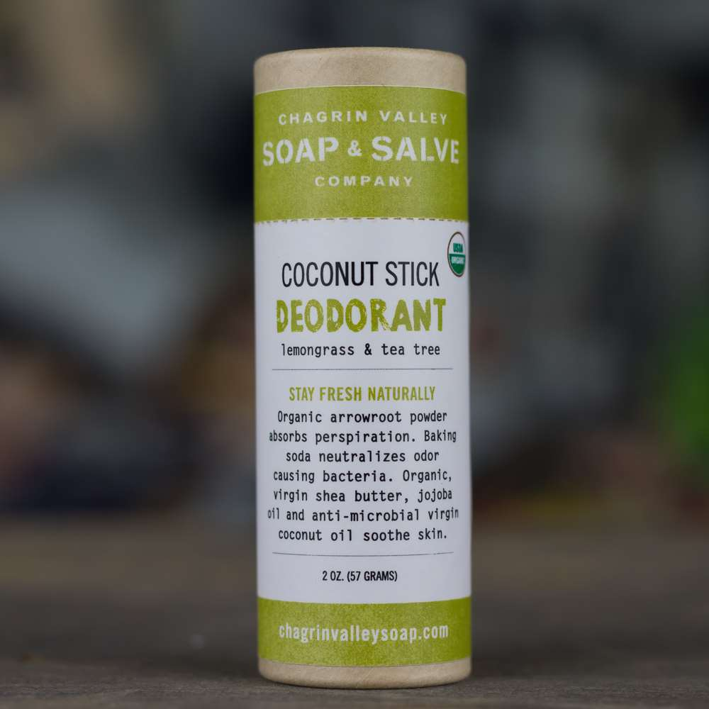 Natural Organic Coconut Stick Deodorant Tea Tree
