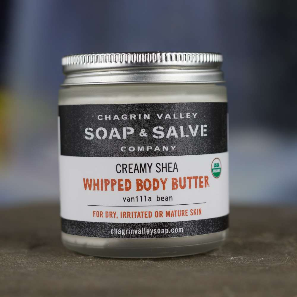 Natural Organic Vanilla Whipped Shea Butter Body Balm