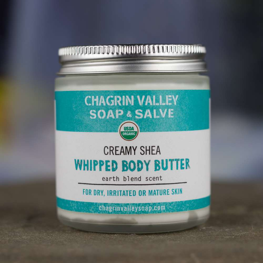 Natural Organic Whipped Shea Patchouli Butter Body Balm
