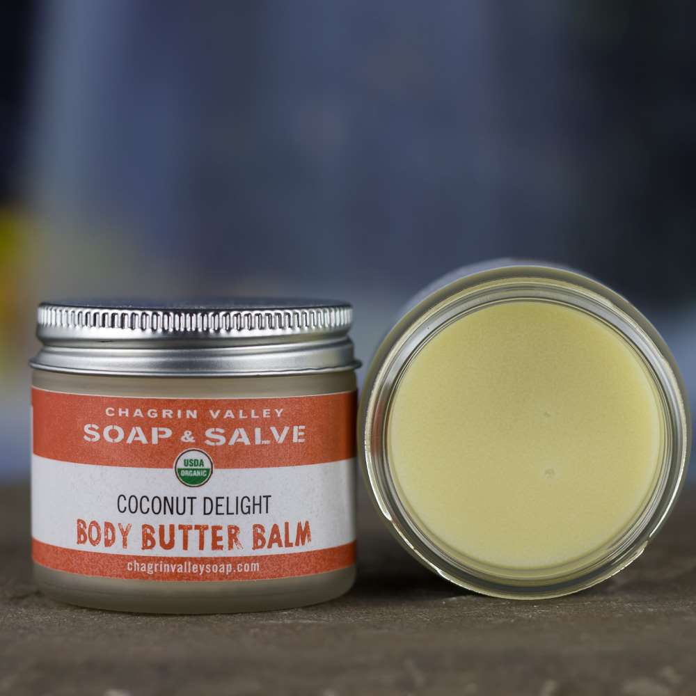 Natural Organic Coconut Body Balm Cream