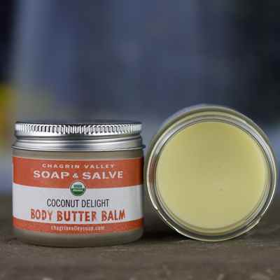 Body Balm:  Coconut Delight