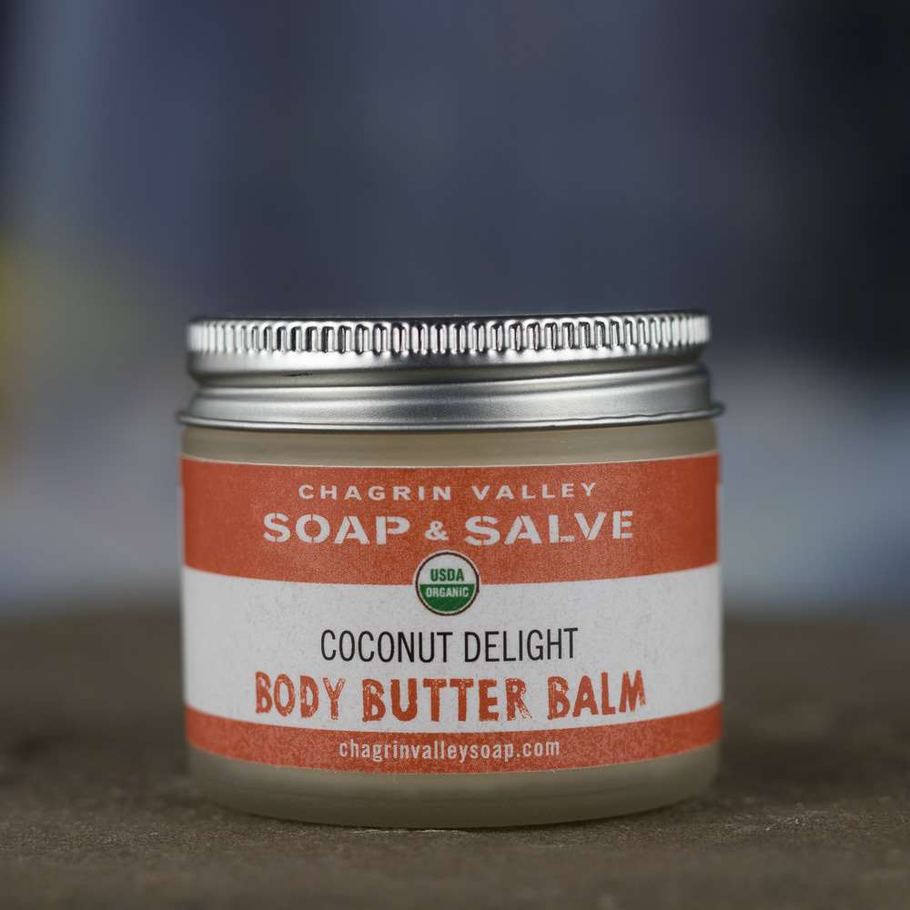 Natural Organic Body Balm Coconut Cream