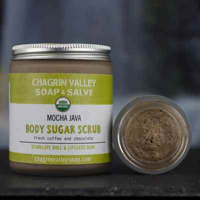 Body Sugar Scrub: Mocha Java