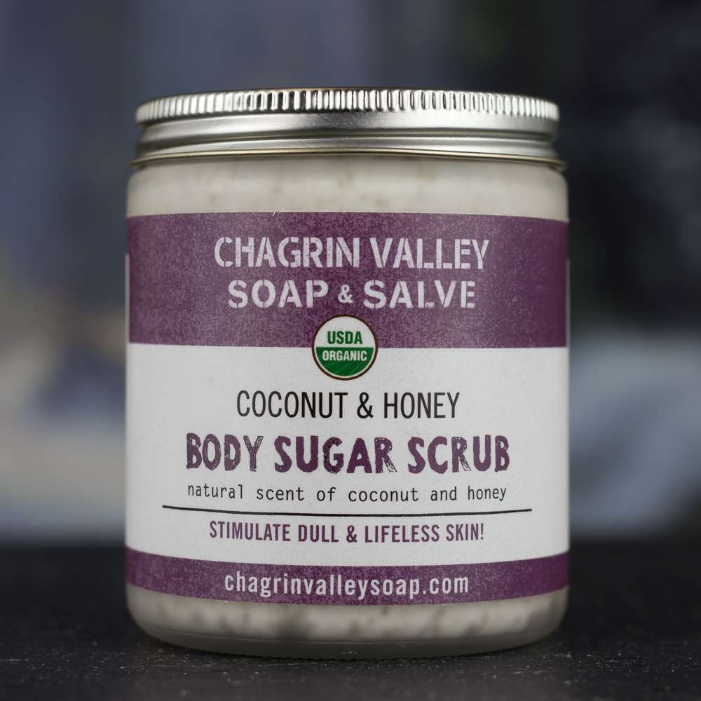 Natural Organic Coconut Honey Body Sugar Scrub