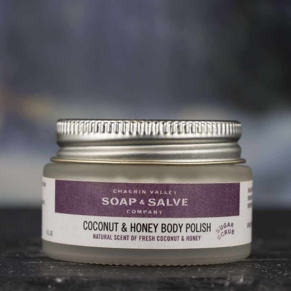 Natural Organic Coconut Body Sugar Scrub