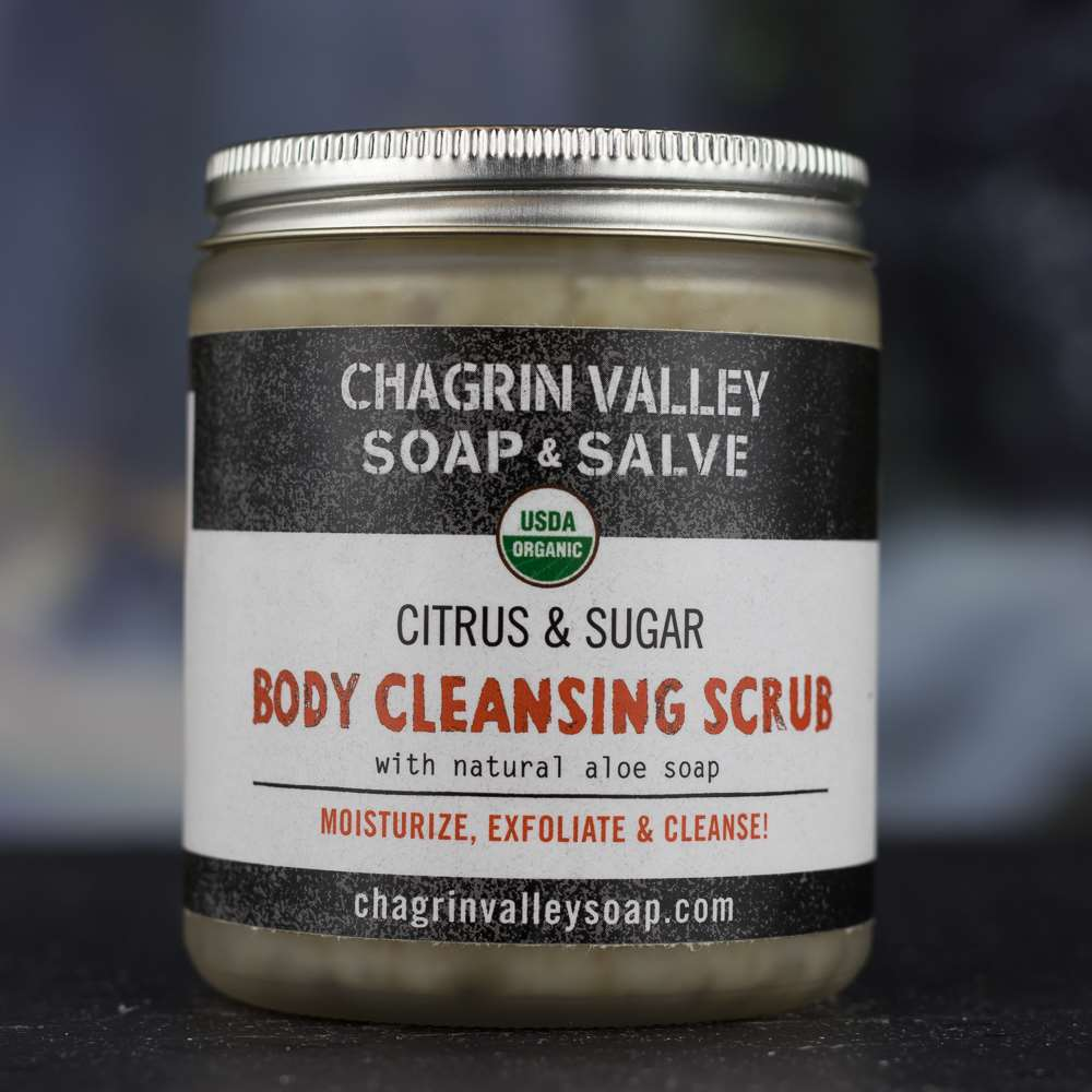 Natural Organic Cleansing Citrus Body Sugar Scrub
