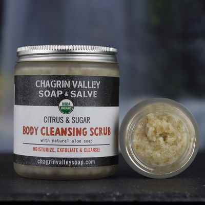 Body Cleansing Scrub: Citrus & Sugar