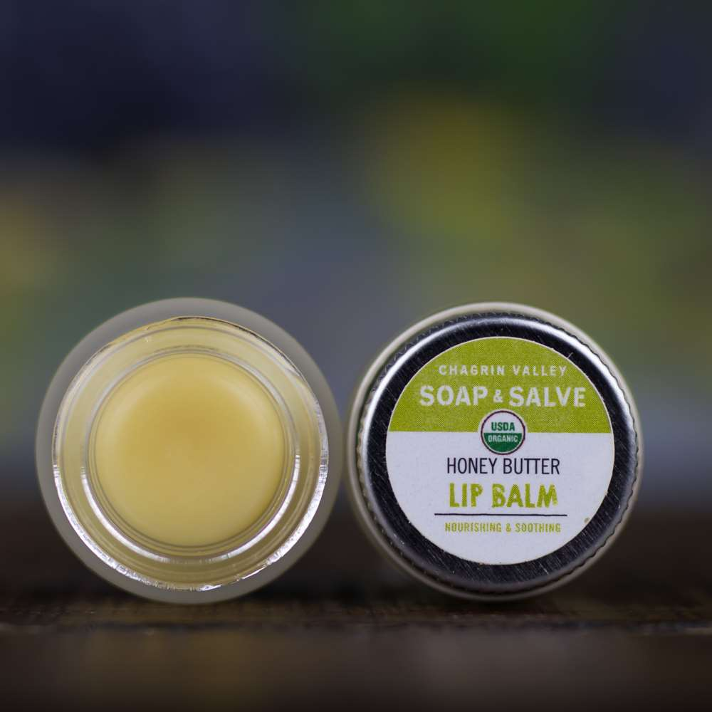 Natural Organic Healing Honey Lip Butter Balm