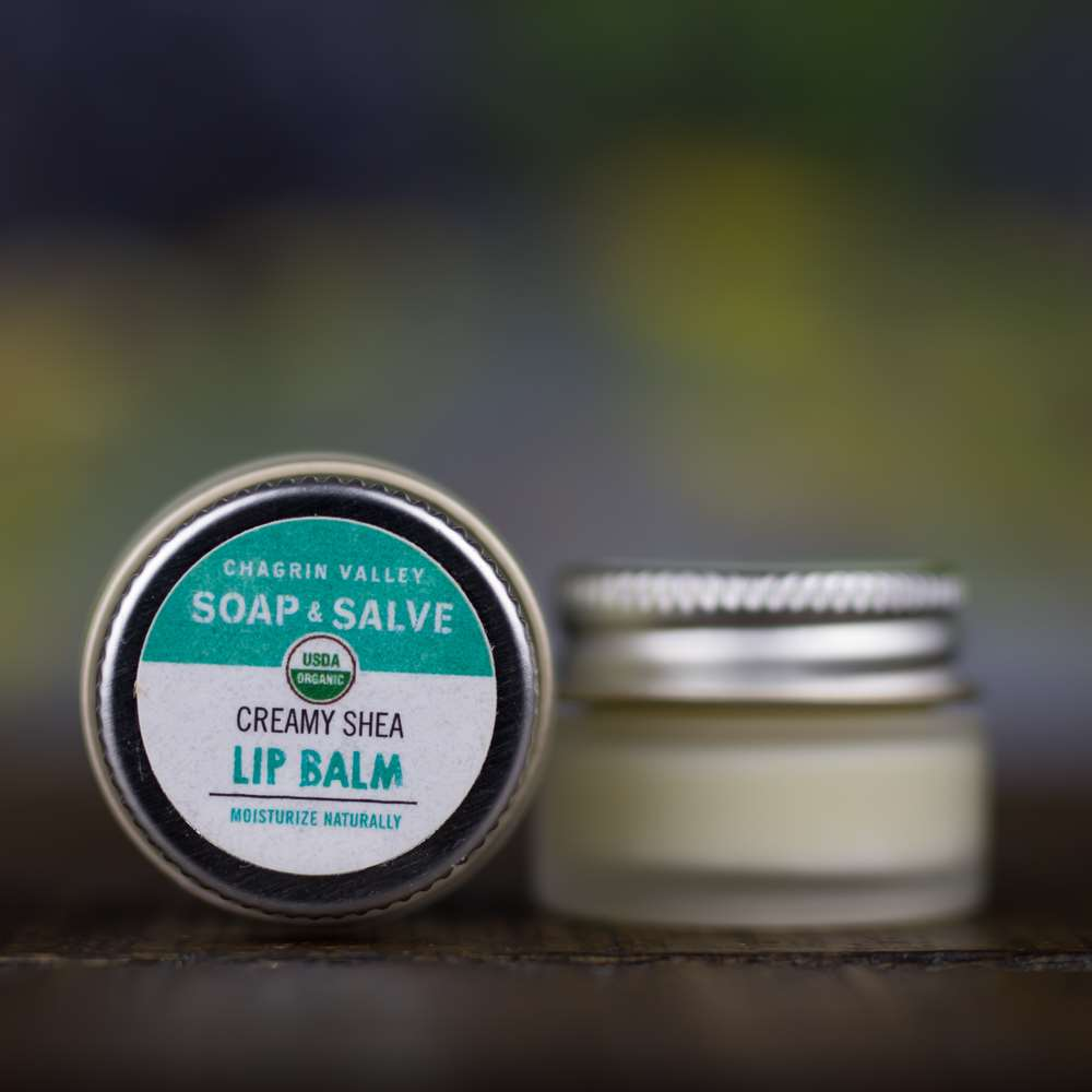 Natural Organic Shea Butter Lip Butter Balm