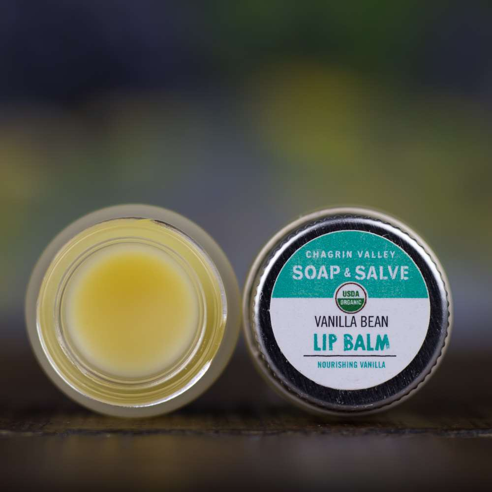 Natural Organic Vanilla Bean Lip Butter Balm