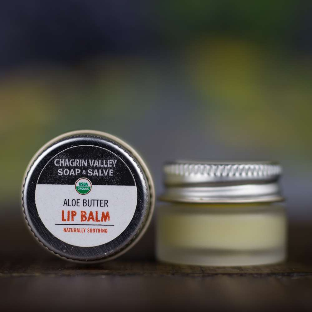 Natural Organic Aloe Lip Butter Balm