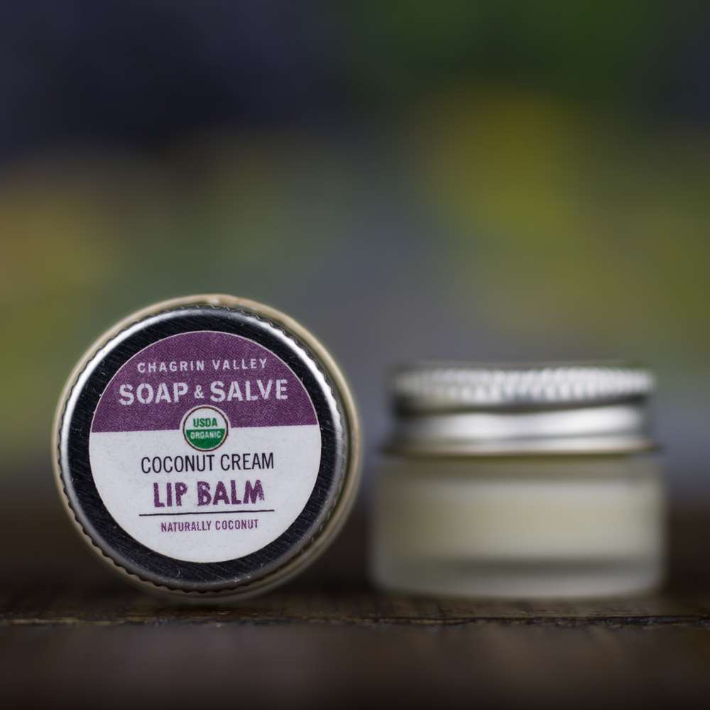 Natural Organic Coconut Lip Butter Balm