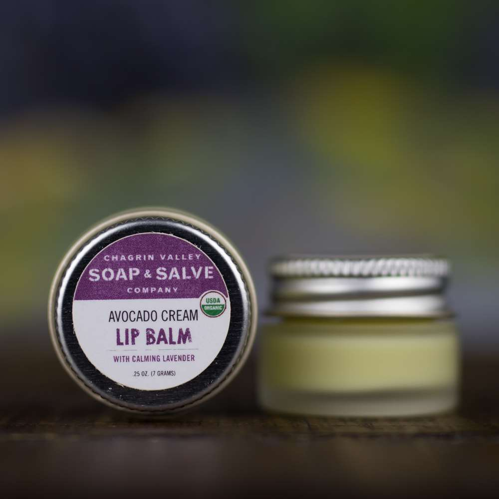 Natural Organic Avocado Lavender Lip Butter Balm