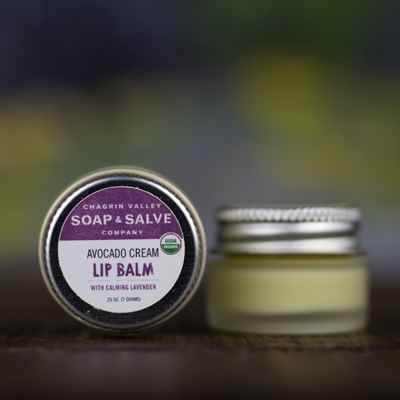 Lip Balm: Avocado Cream Lavender