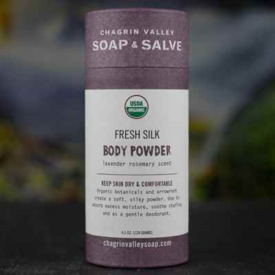 Body Powder: Lavender Rosemary