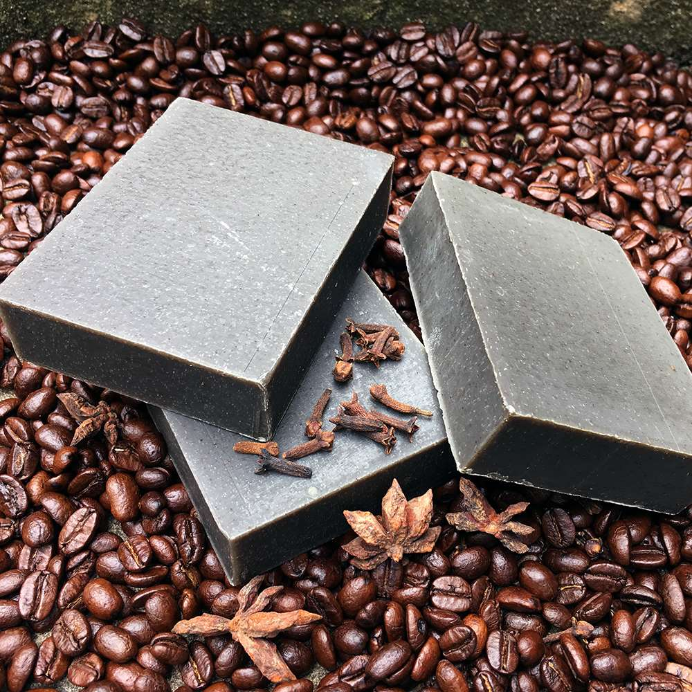 Natural Organic Coffee Clove Anise Soap