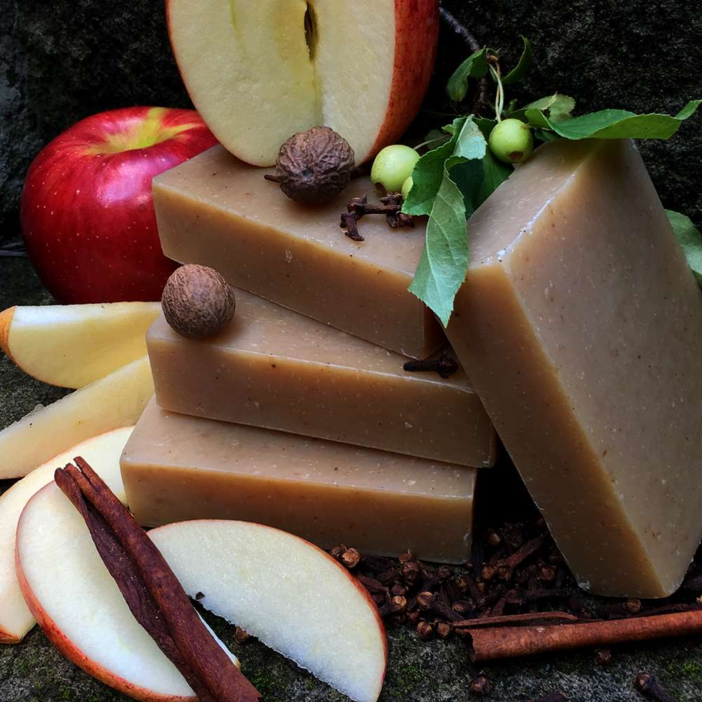 Natural Organic Apples and Spice Soap