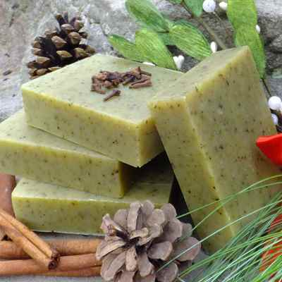 Soap: Mistletoe