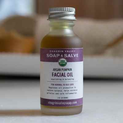 Facial Oil: Argan Pumpkin