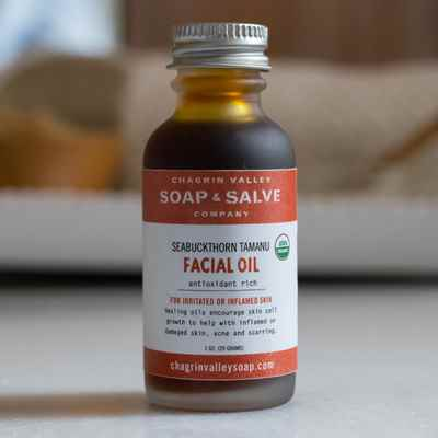 Facial Oil: Sea Buckthorn Tamanu