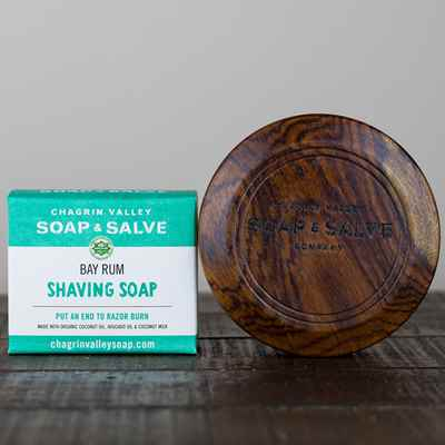 Gift: Wood Shaving Bowl & Soap