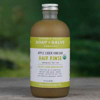 Apple Cider Vinegar Rinse Concentrate: Lemongrass Tea Tree