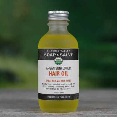 Hair Oil: Argan Sunflower