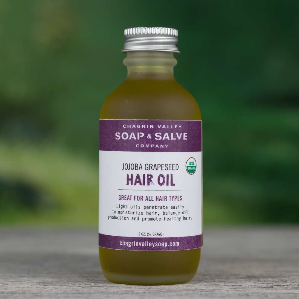 Natural Organic Grapeseed Oil Hair Conditioner
