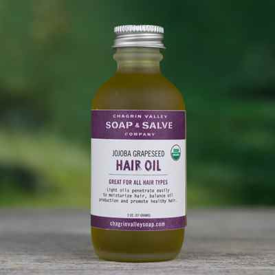 Hair Oil: Jojoba Grapeseed