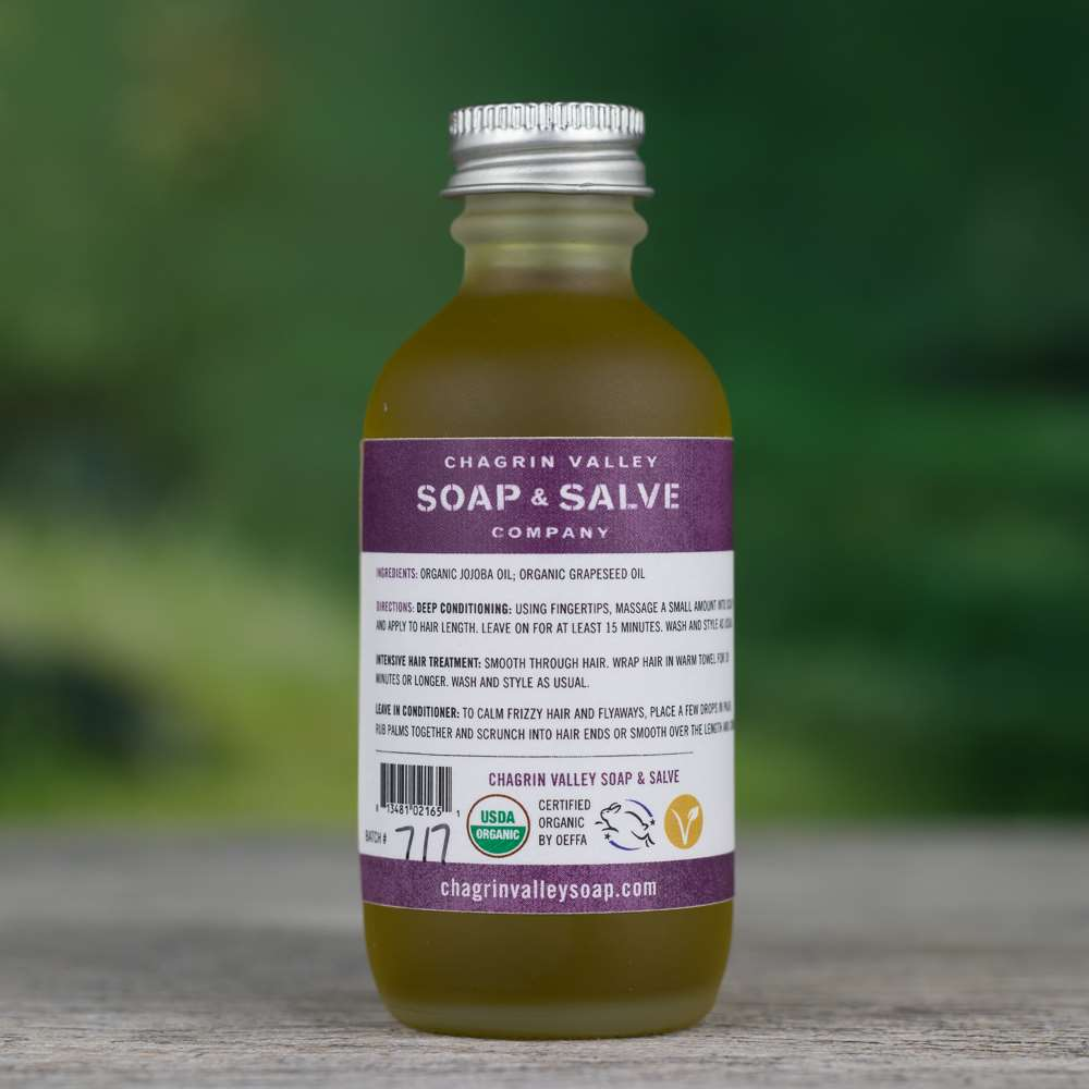 Natural Organic Grapeseed Hair OilConditioner