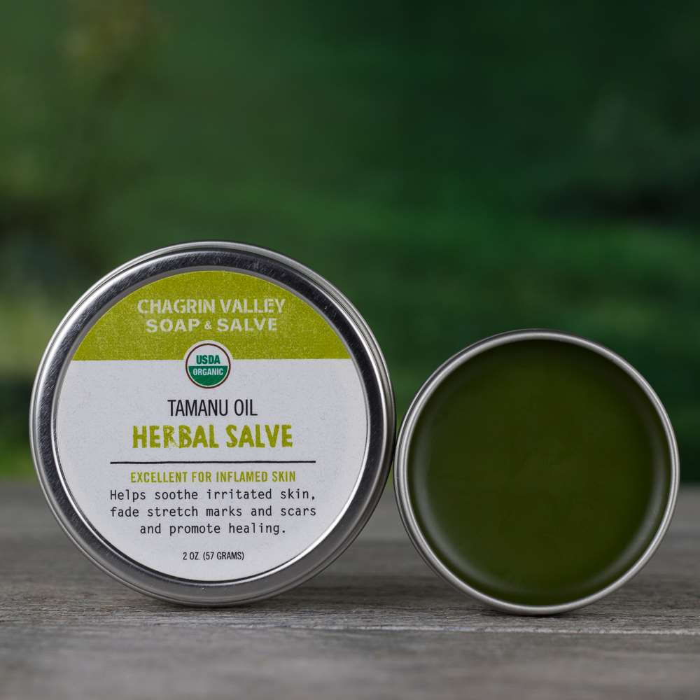 Natural Organic Tamanu Oil Healing Scar Salve Cream