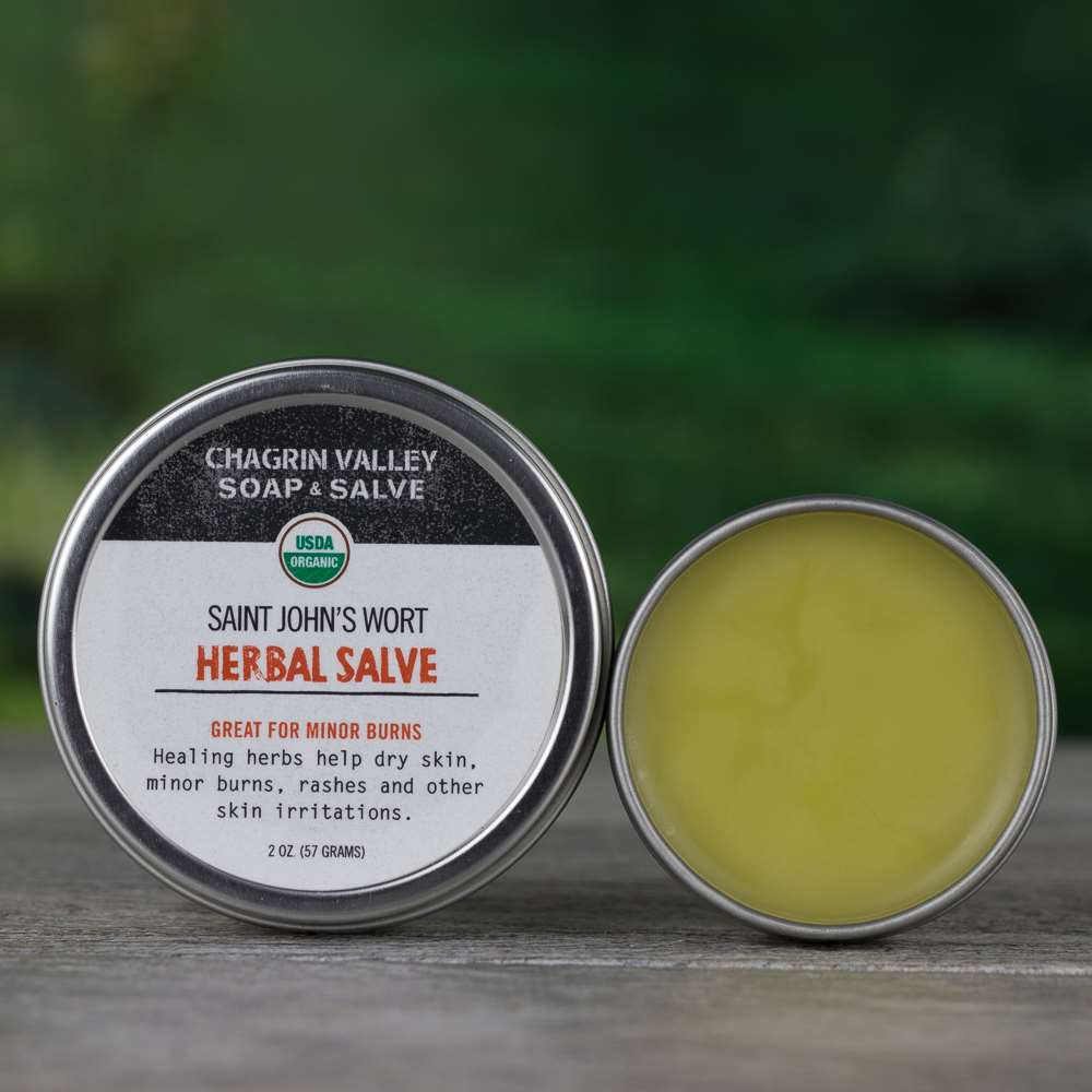 Natural Organic St. Johns Healing Burn Radiation Salve Cream
