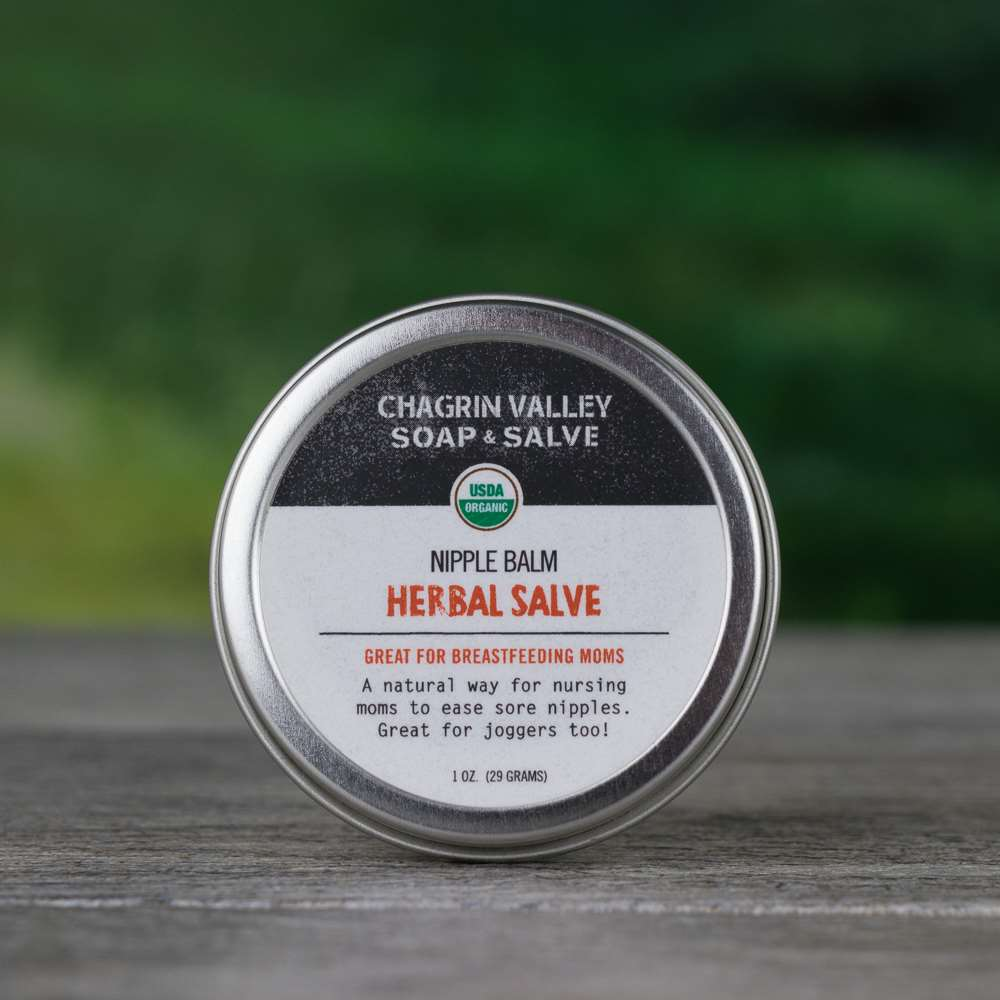Natural Organic Beastfeeding Nipple Salve Cream