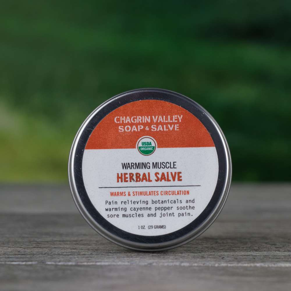 Natural Organic Cayenne Pepper Warming Sore Muscle Salve Cream