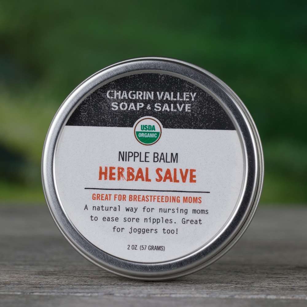 Natural Organic Nursing Nipple Salve Cream