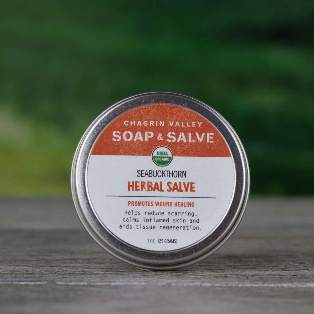 Natural Organic Rosacea Scar Sea Buckthorn Salve Cream