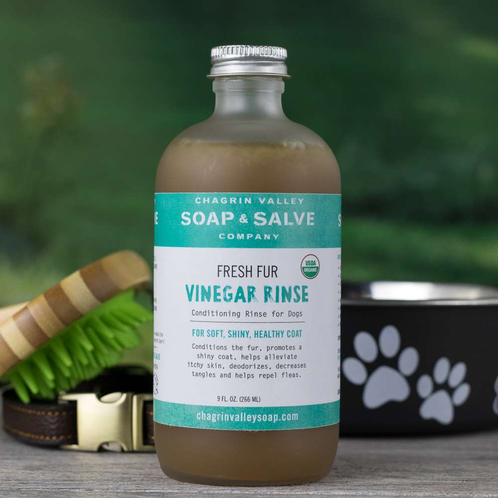 Natural Organic Apple Cider Vinegar Dog Fresh Fur Rinse