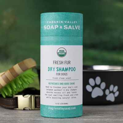 Fresh Fur Dry Dog Shampoo