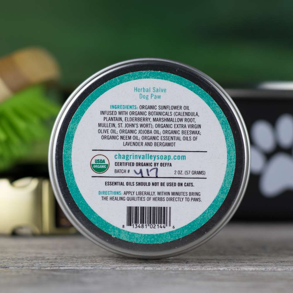 Dog Paw Salve