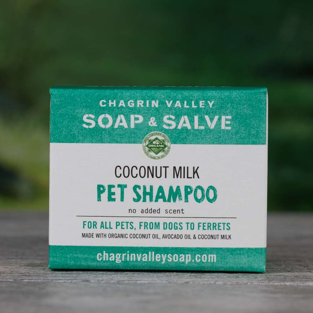 Natural Organic Coconut Milk Pet Shampoo