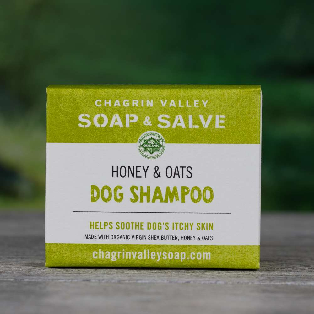Natural Organic Dog Honey Oatmeal Dog Shampoo