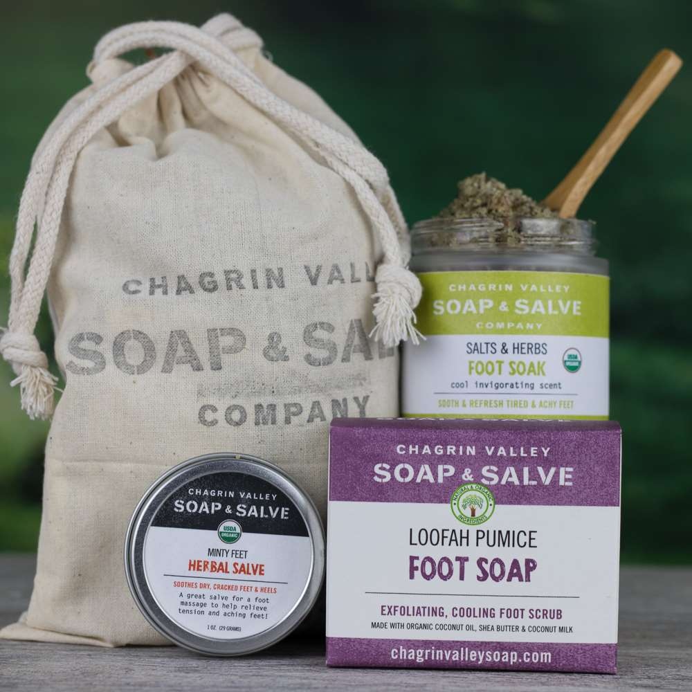 Natural Organic Foot Skin Care Bundle Fabulous Feet