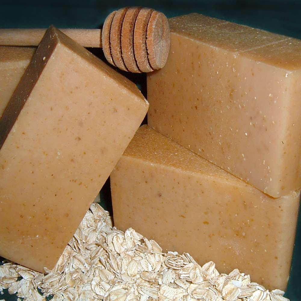 Natural Organic Goat Milk Oatmeal Honey Soap