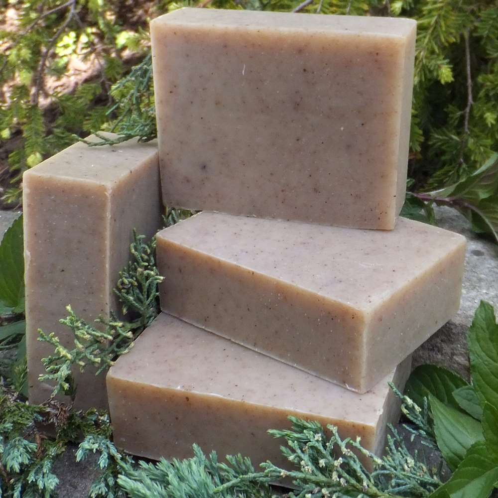 Natural Organic Juniper Berry and Spearmint Soap