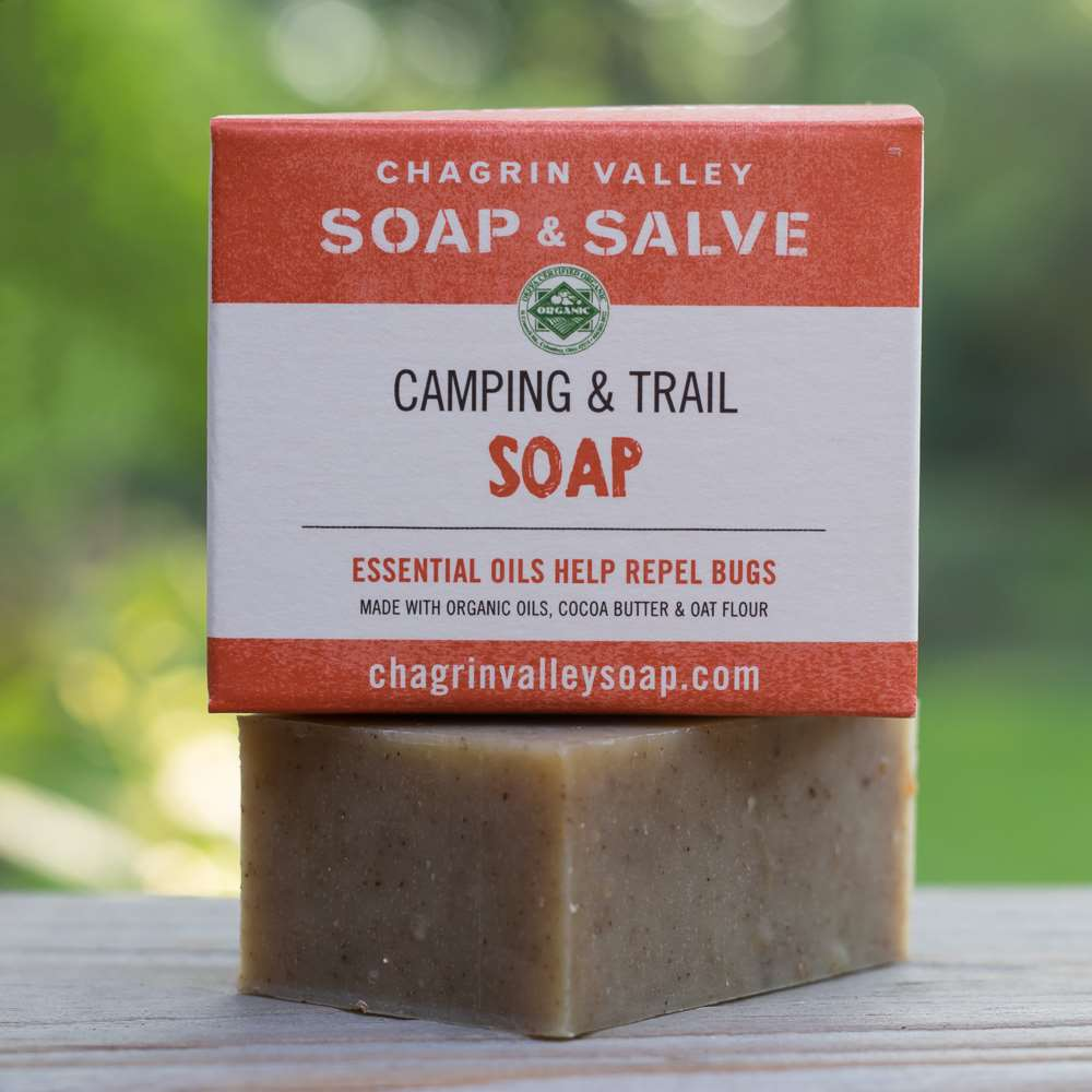 Natural Camping Soap Bug Repellent