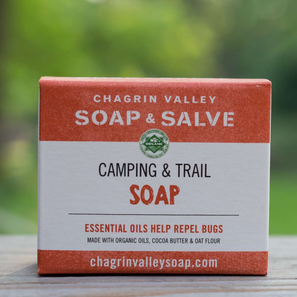 Natural Camping Soap Bug Repellent Box