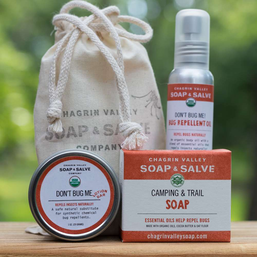 Natural Organic Bug Repellent Kit