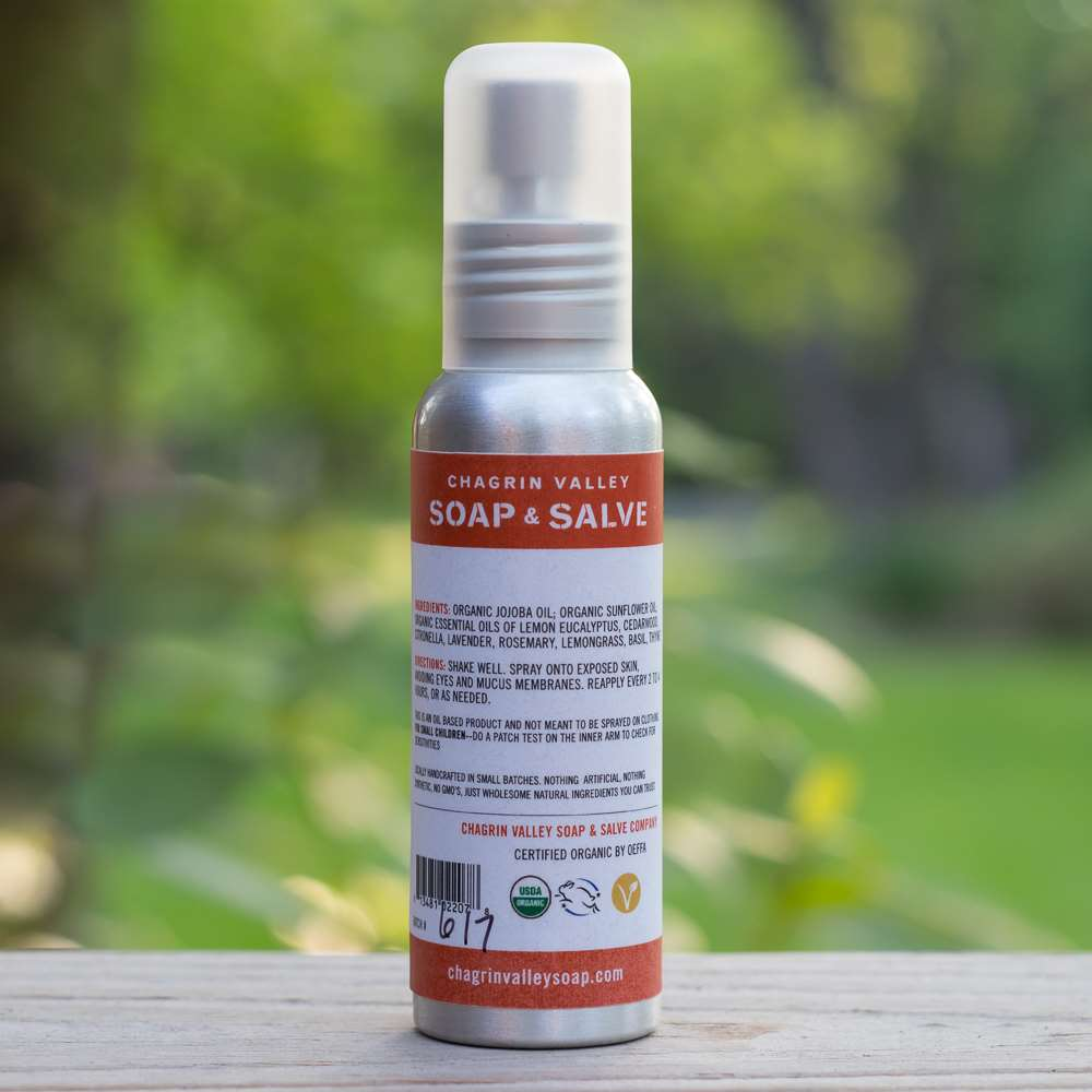 Natural Bug Spray Oil Chagrin Valley Soap